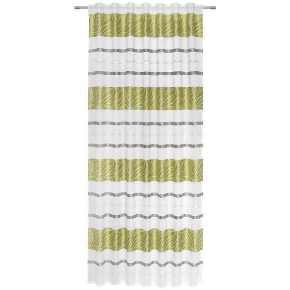 Fertigvorhang Anita Grün 140x245cm - Grün, KONVENTIONELL, Textil (140/245cm) - Mömax modern living