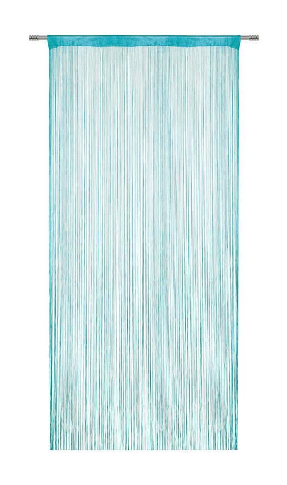 Fadenstore Franz Petrol - Petrol, Textil (90/245cm) - MÖMAX modern living
