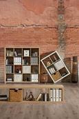 Predelna Stena Aron - bela, leseni material (117,2/83,4/35cm) - Mömax modern living