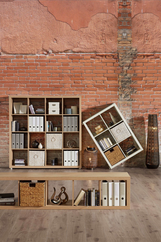 Raumteiler in Weiß lackiert - Weiß, Basics, Holzwerkstoff (117,2/83,4/35cm) - MÖMAX modern living