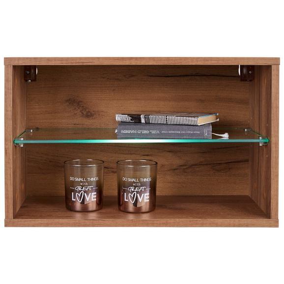 Viseči Element Avensis New - hrast, Konvencionalno, steklo/leseni material (56/34/25cm) - Mömax modern living