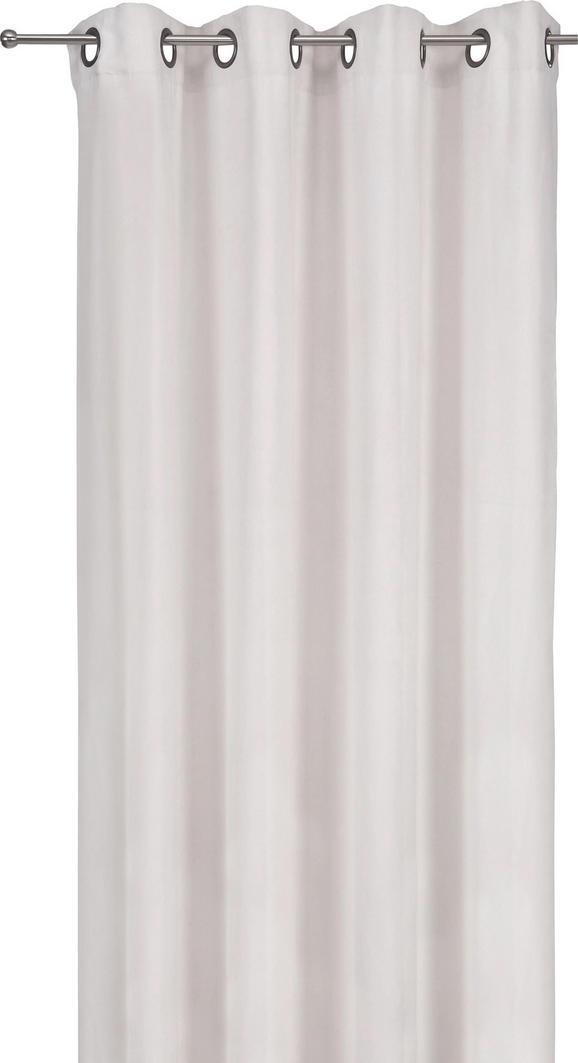 Fertigvorhang Velours, ca. 140x245cm - Sandfarben, MODERN, Textil (140/245cm) - MÖMAX modern living