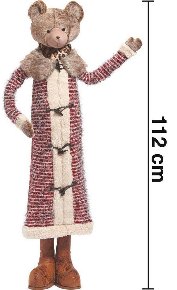 Dekobär Birdy H ca. 112 cm - Multicolor, LIFESTYLE, Holz/Kunststoff (26/17/112cm) - Mömax modern living