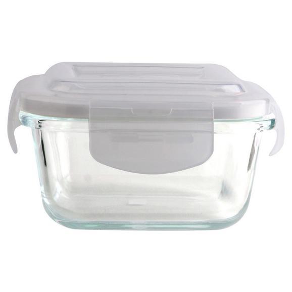 Frischhaltedose Fresh ca. 1,05l - Klar/Transparent, Glas/Kunststoff (18,3/18,3/8,5cm) - Mömax modern living