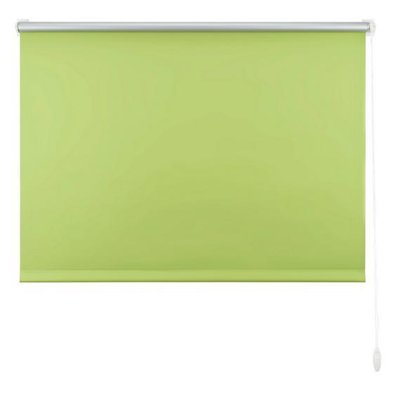 Klemmrollo Thermo Grün ca. 120x150cm - Grün, Textil (120/150cm) - Premium Living