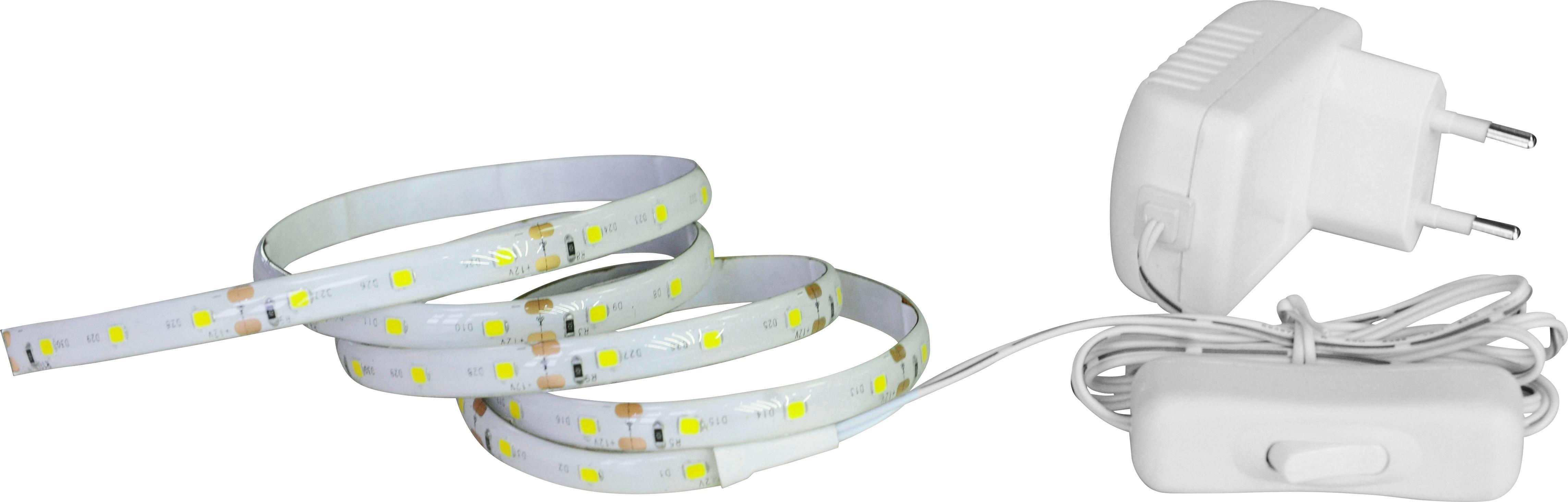 LED-Dekoleuchte Kurt, max. 6 Watt - Weiß, Kunststoff (100/1/0,3cm) - MÖMAX modern living