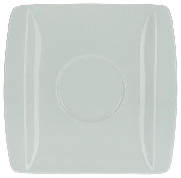 Krožniček Pura Mint - meta zelena, Moderno, keramika (10,7/10,8cm) - Mömax modern living