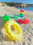 Luftmatratze Lolly Bunt - Multicolor, Kunststoff (72/180cm) - MÖMAX modern living