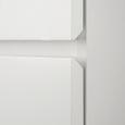 Kleiderschrank Milo - Weiß, MODERN, Holzwerkstoff (80/205/60cm) - Modern Living