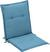 Sesselauflage Poppi in Blau - Blau, Textil (48/96/48cm) - Mömax modern living