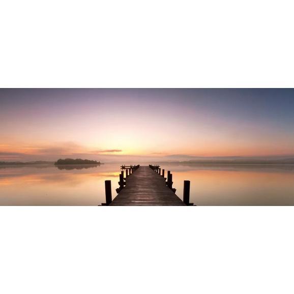 glasbild sunset ca 50x125x2cm online kaufen m max. Black Bedroom Furniture Sets. Home Design Ideas