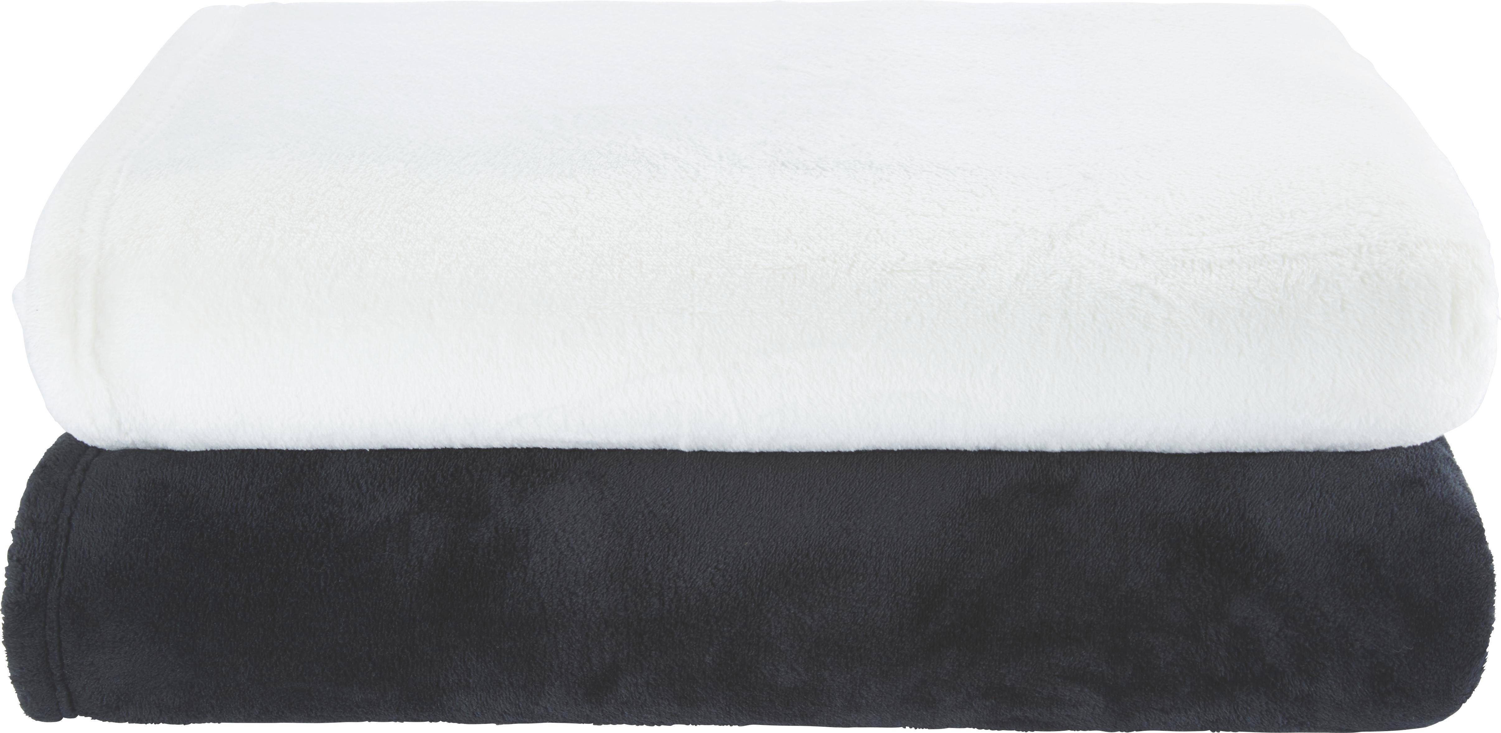 Kuscheldecke Kuschelix - Schwarz, Textil (140/200cm) - MÖMAX modern living