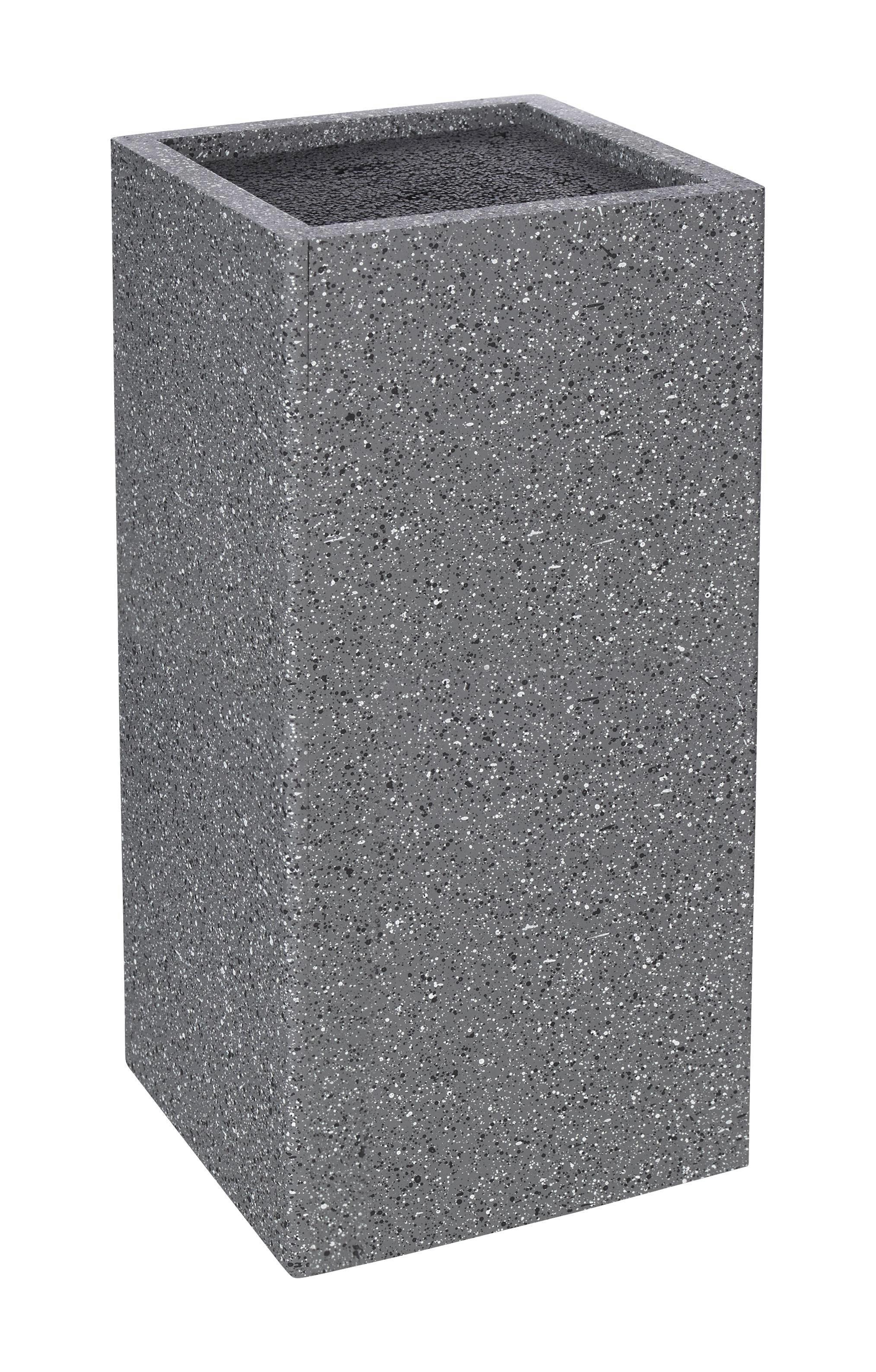 Messerblock Simon in Grau - Multicolor/Grau, MODERN, Holzwerkstoff/Kunststoff (11/10,6/24cm) - MÖMAX modern living