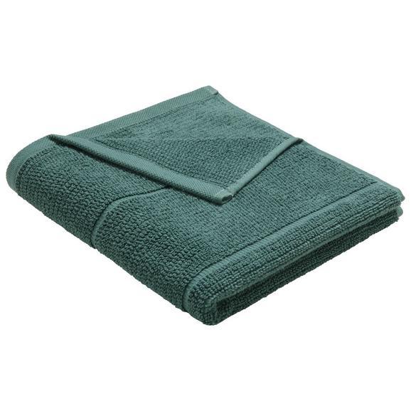Brisača Anna - temno zelena, tekstil (50/100cm) - Mömax modern living