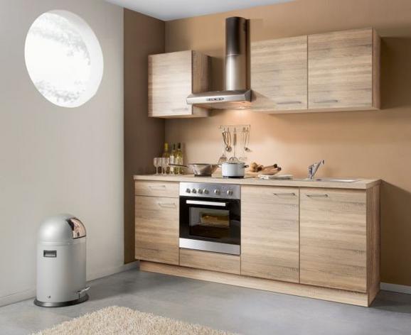 Kuhinjski Blok Plan - hrast, Moderno, umetna masa (200cm) - Express
