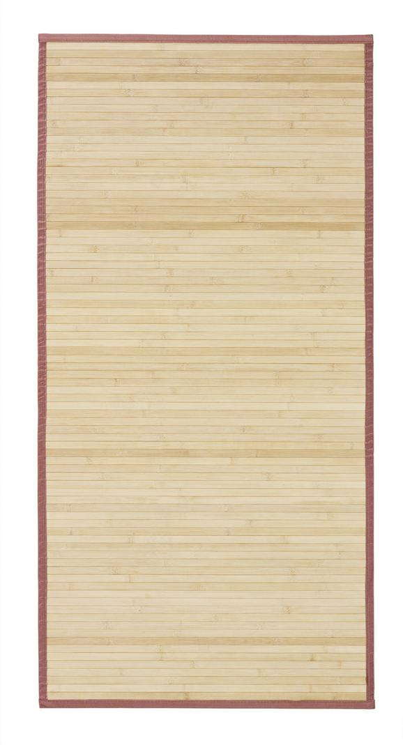 Teppich Natascha ca. 70x140cm - Braun, KONVENTIONELL, Holz (70/140cm) - Mömax modern living
