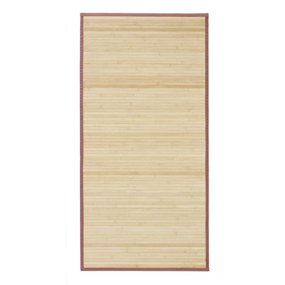 Teppich Natascha in Braun ca. 70x140cm - Braun, KONVENTIONELL, Holz (70/140cm) - Mömax modern living