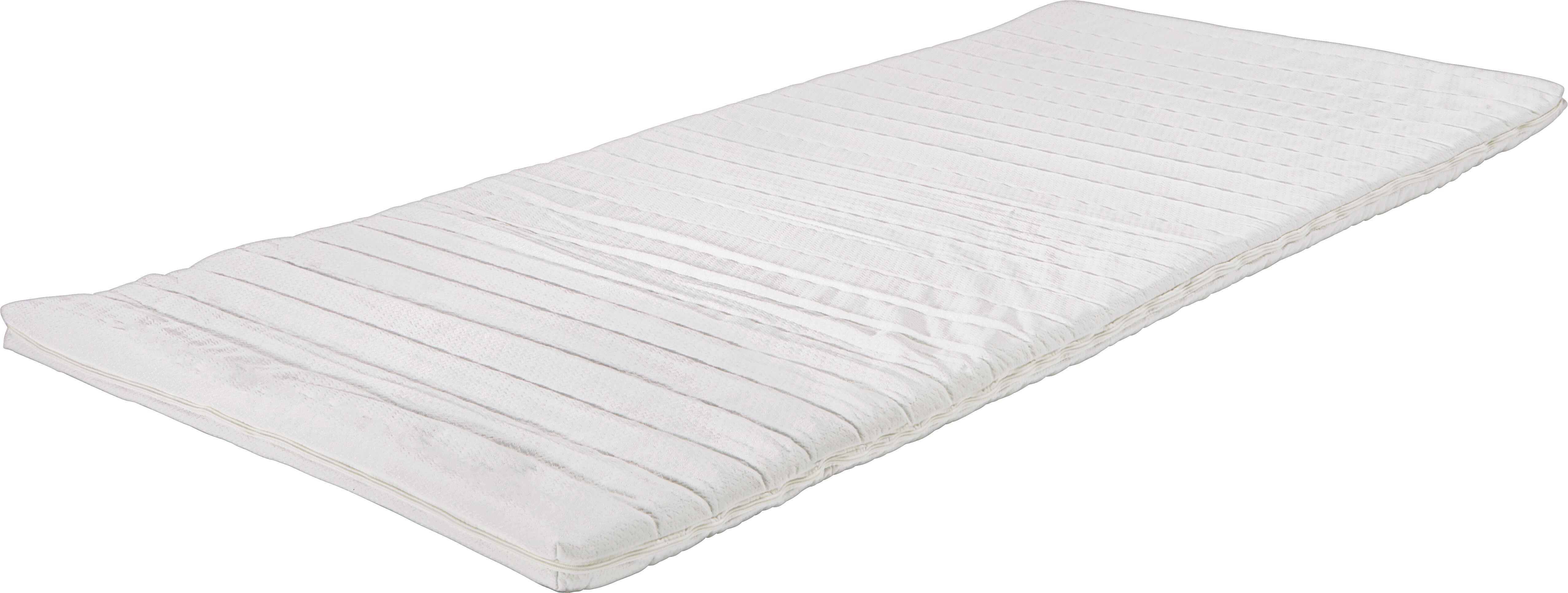 Topper Kaltschaumkern ca. 90x200cm - Weiß, KONVENTIONELL, Textil (90/200cm) - NADANA