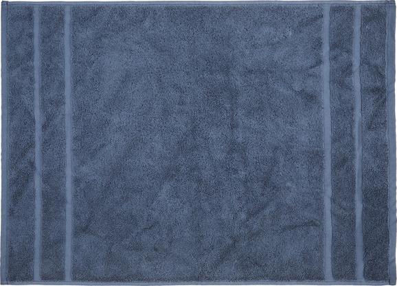 Badematte Melanie Blau - Blau, Textil (50/70cm)