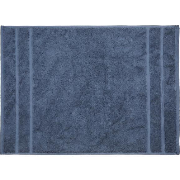 Kupaonski Otirač Melanie Dunkelblau 50x70cm - tamno plava, tekstil (50/70cm) - Mömax modern living