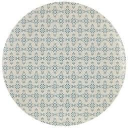 Lapostányér Agnes - Natúr/Kék, modern, Faalapú anyag/Fa (25cm) - Mömax modern living