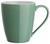 Becher Sandy Mint aus Keramik - Weiß/Mintgrün, KONVENTIONELL, Keramik (8,9/10cm) - Mömax modern living