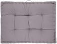 Palettenkissen Palette Grau, 60x80x12 cm - Grau, Textil (60/80/9cm) - Mömax modern living