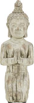 Buda Buddha Knieend - rjava, Konvencionalno, kamen (19/15/42,5cm) - Mömax modern living