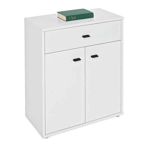 "Comodă ""boni"" - alb, Modern, compozit lemnos (60/70/30cm)"
