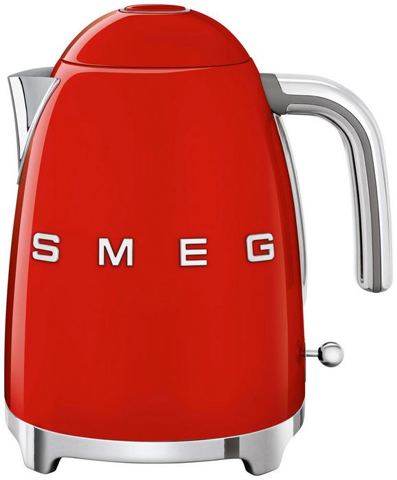 Wasserkocher Klf01rdeu Rot, 1,7l - Rot (22,3/24,8/17,1cm) - SMEG