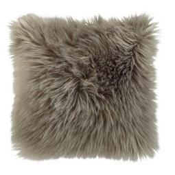 Fellkissen Mona 40x40 cm - Silberfarben/Grau, MODERN, Textil (40/40cm) - Mömax modern living