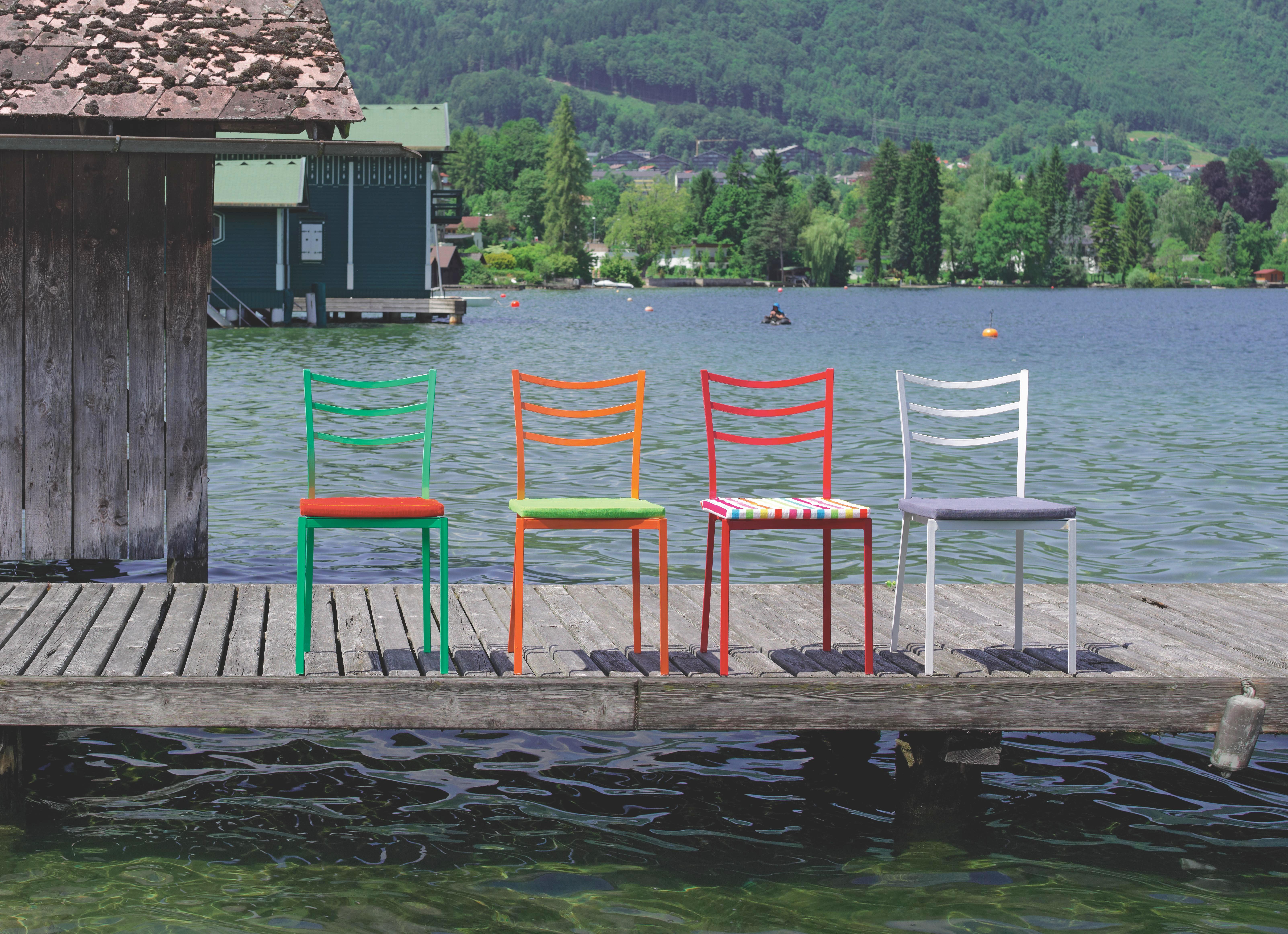 Gartenstuhl Luigi - Grün, KONVENTIONELL, Kunststoff/Metall (40/81,5/46,5cm) - MODERN LIVING