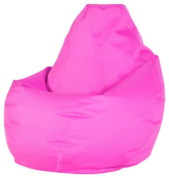 Vreča Za Sedenje Soft L - roza, Moderno, tekstil (120cm) - Mömax modern living