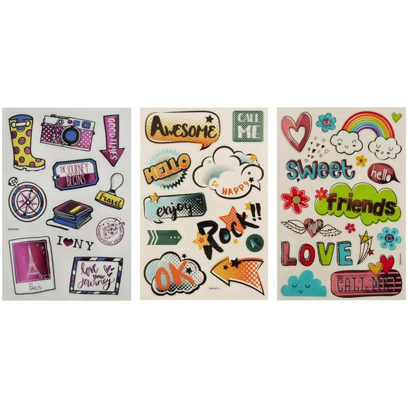 Sticker Lilli Bunt - LIFESTYLE, Papier/Kunststoff (14/21cm)