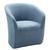 Sessel Blau/Grau - Blau/Grau, MODERN, Holzwerkstoff/Textil (72/77/72cm) - Mömax modern living