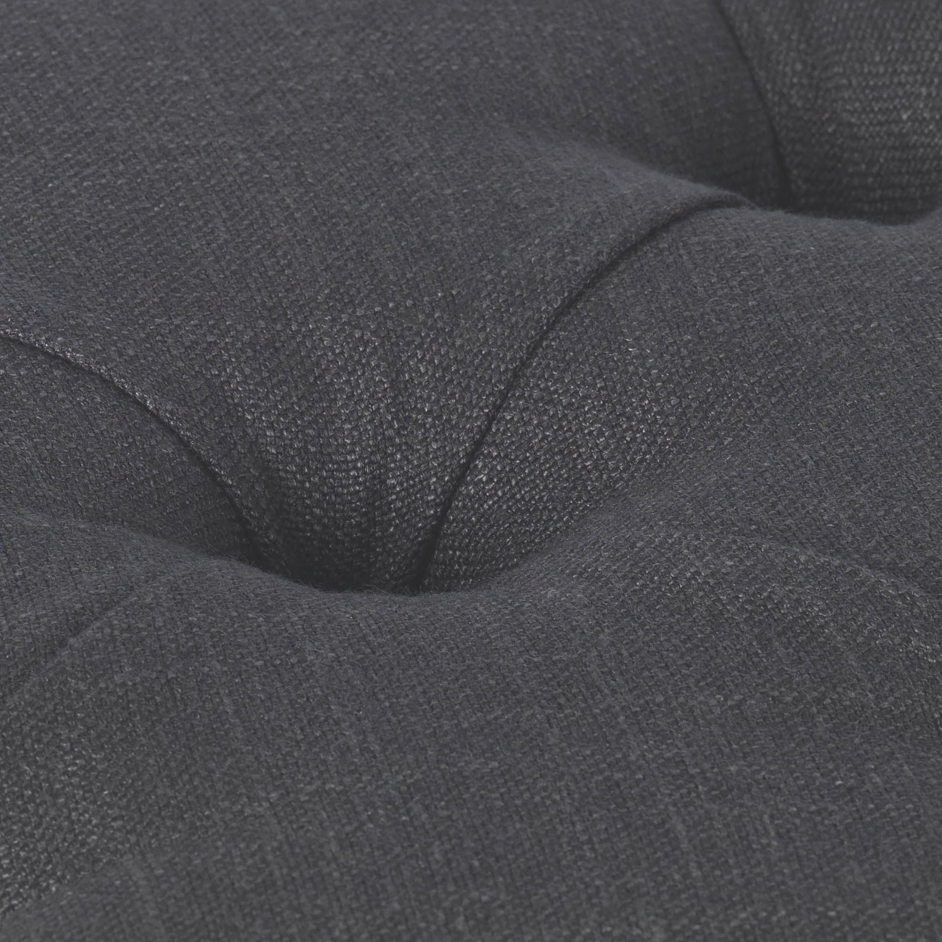 Bettbank Monaco - Grau, ROMANTIK / LANDHAUS, Holz/Textil (80/40/40cm) - MÖMAX modern living