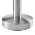 Tischleuchte Leo Weiß max. 40 Watt - Weiß, KONVENTIONELL, Glas/Kunststoff (15/21cm) - Mömax modern living