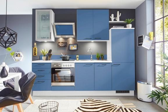 Küchenblock Pn80, Blau - Blau (265cm) - PINO