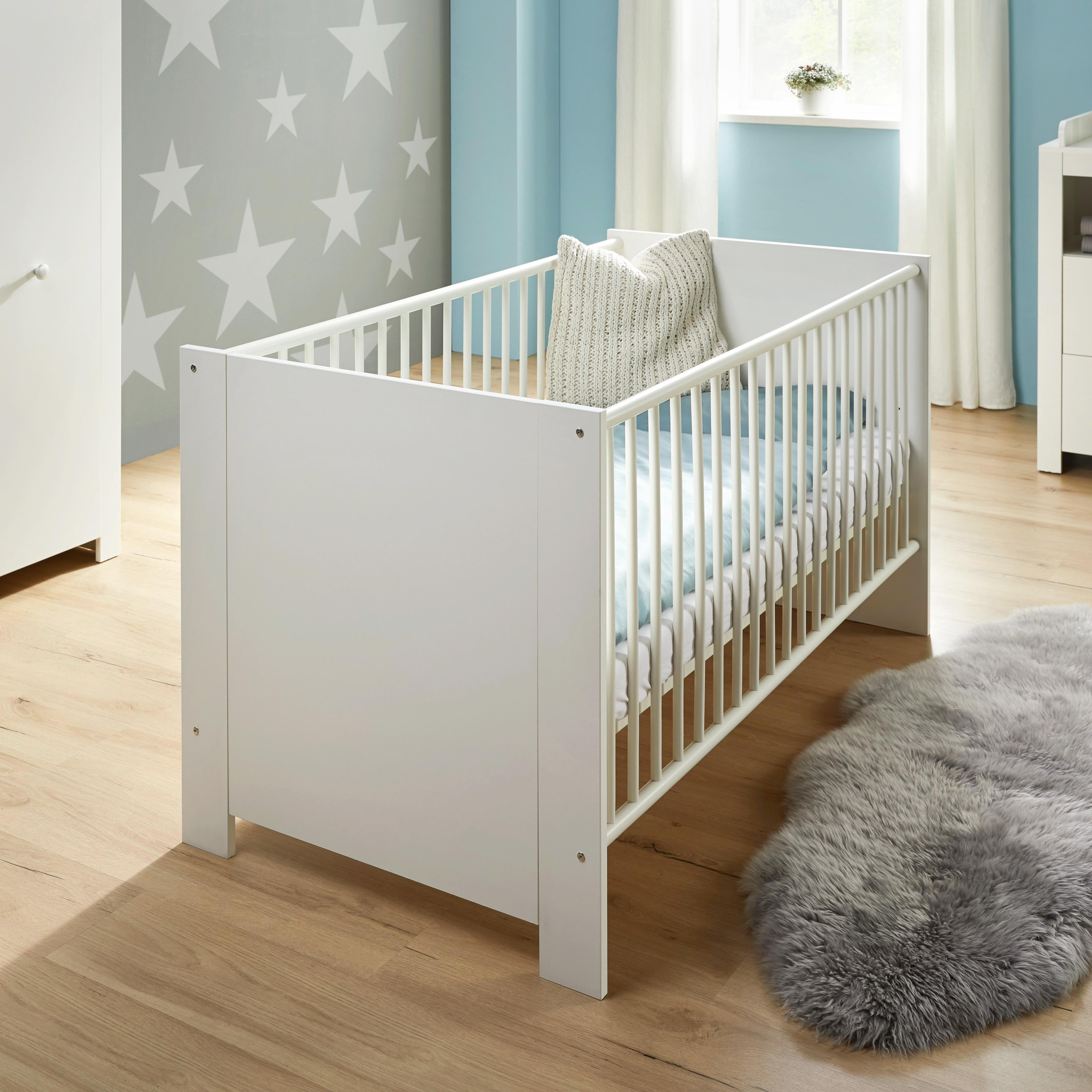 Babyzimmer Olivia - Weiß, KONVENTIONELL (334/186/266cm)