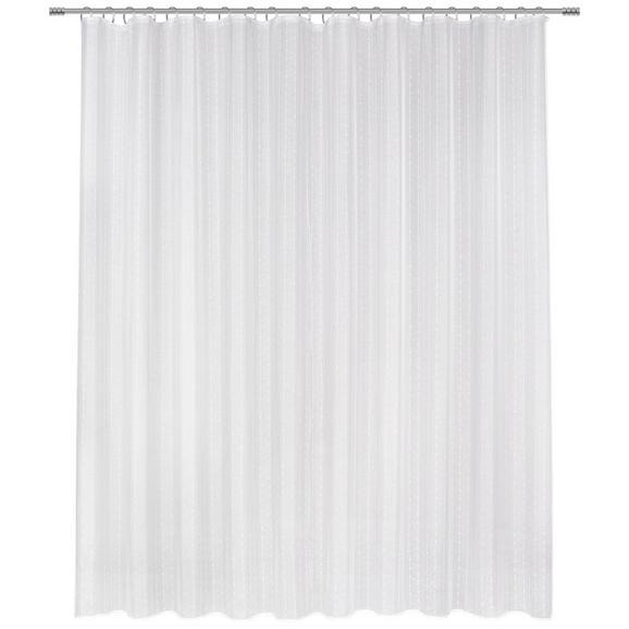 Schlaufenvorhang Lisa Store in Weiß - Weiß, ROMANTIK / LANDHAUS, Textil (300/245cm) - Mömax modern living