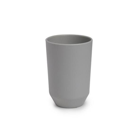 Fogmosópohár Lilo - Szürke, modern, Műanyag (7,32/11,43cm) - Mömax modern living