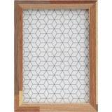 Bilderrahmen Woody, ca. 15x20cm - Braun, Glas/Holz (15/20/3cm) - Mömax modern living
