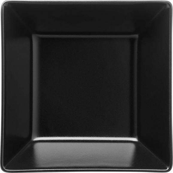 Müslischale Manhattan City aus Porzellan - Schwarz, MODERN, Keramik (12,7/4,8/12,7cm)