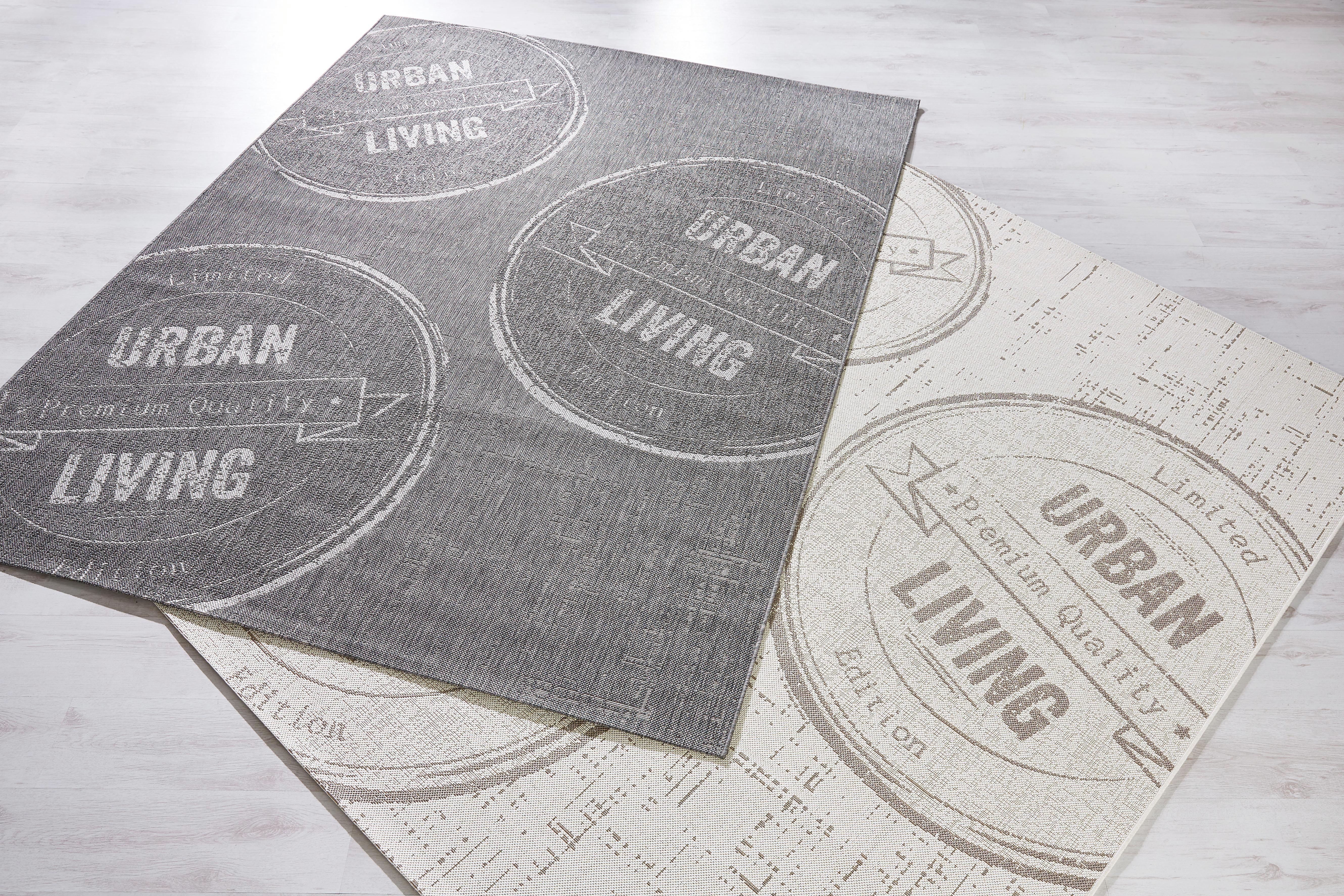 Síkszövet Szőnyeg Urban Living 2 - antracit, Lifestyle (120/170cm) - MÖMAX modern living