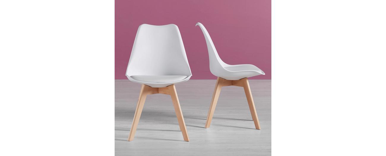 [moemax.at] Stuhl Rocky schwarz oder weiß um 11,76€
