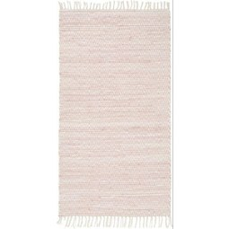 Handwebeteppich Mary Rosa, ca. 80x150cm - Rosa, ROMANTIK / LANDHAUS, Textil (80/150cm) - Mömax modern living