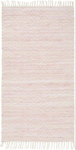 Handwebteppich Mary in Rosa, ca. 80x150cm - Rosa, ROMANTIK / LANDHAUS, Textil (80/150cm) - MÖMAX modern living