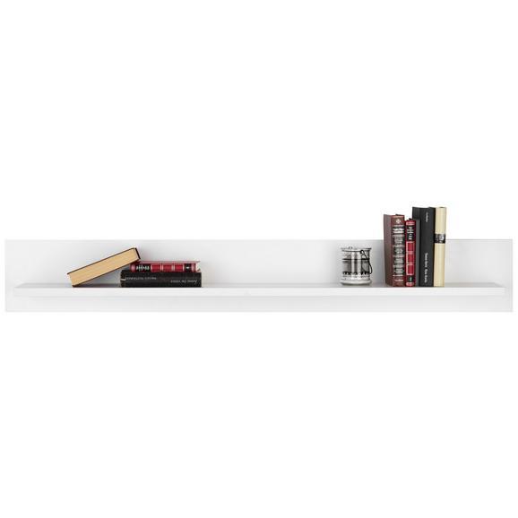 Wandboard in Weiß Hochglanz - Weiß, LIFESTYLE, Holzwerkstoff (140.0/20.0/19.5cm) - Modern Living