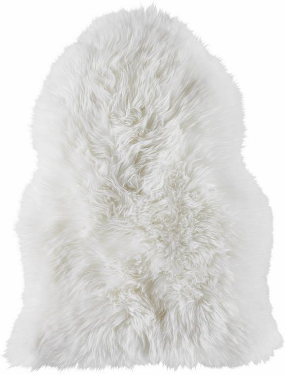 Schaffell Mia - Weiß, ROMANTIK / LANDHAUS, Weitere Naturmaterialien (45/65cm) - Mömax modern living