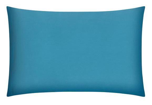 Kissenhülle Belinda, ca. 40x60cm - Türkis/Petrol, Textil (40/60cm) - Premium Living